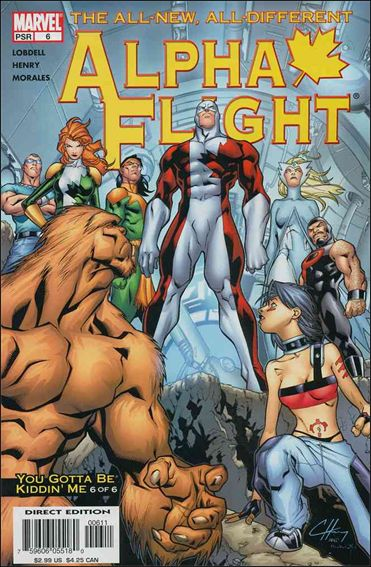 Alpha Flight (2004) 6-A by Marvel