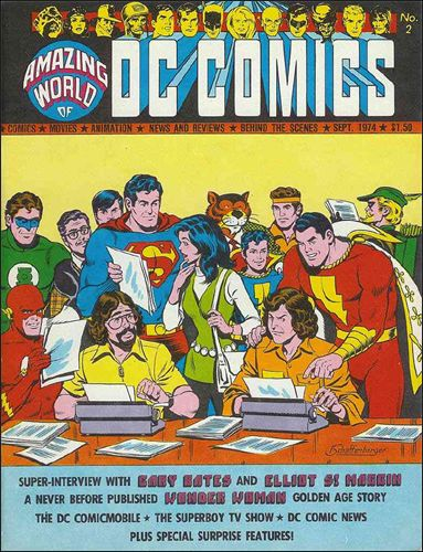 Amazing World of DC Comics 2-A by DC