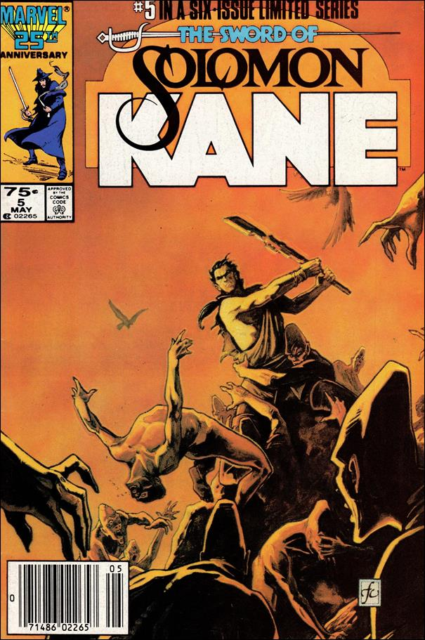 Solomon Kane (1985) 5-A by Marvel