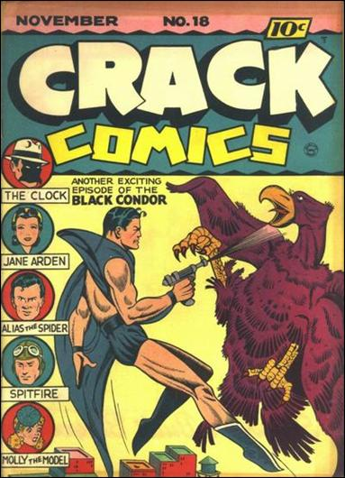 Crack Comics 18-A by Quality