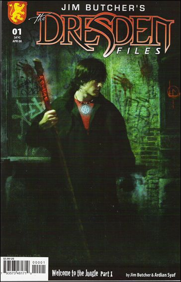 Jim Butcher's The Dresden Files: Welcome to the Jungle 1-B by Dabel Brothers (DB) Productions