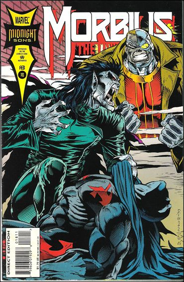Morbius: The Living Vampire (1992) 18-A by Marvel