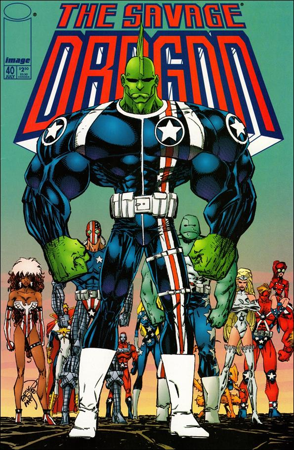Savage Dragon (1993) 40-A by Image