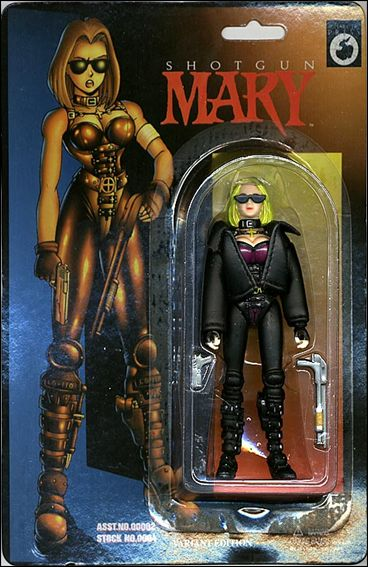 Warrior Nun Areala (Series 2) Shotgun Mary (in Leather Jacket) by Antarctic Press