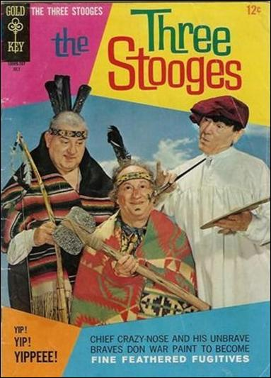 Three Stooges (1960) 35-A by Gold Key