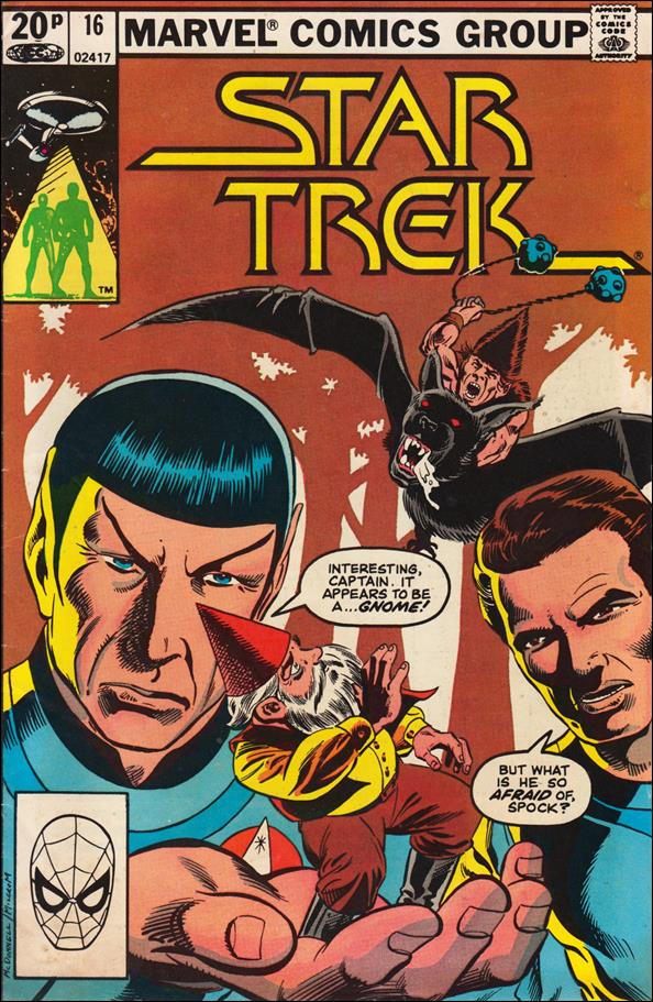Star Trek (1980) 16-B by Marvel