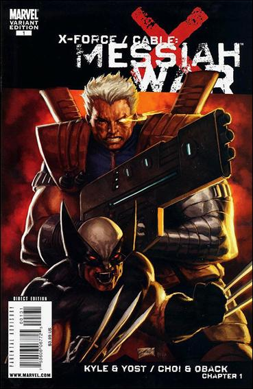 X-Force/Cable: Messiah War 1-C by Marvel