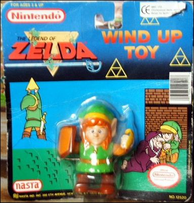 Legend of Zelda Wind Up Toy Link by Nasta
