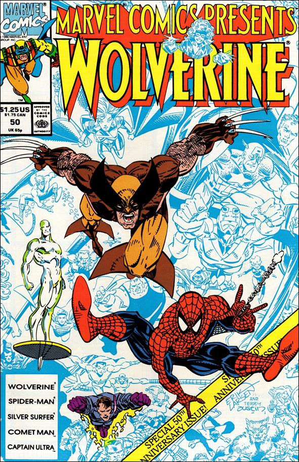 Marvel Comics Presents (1988) 50-A by Marvel