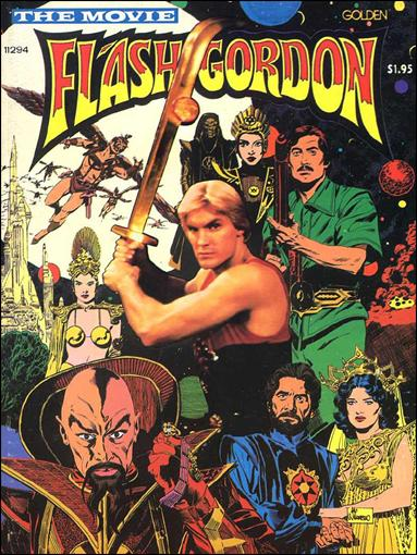 Flash Gordon: The Movie 1-A by Golden Press