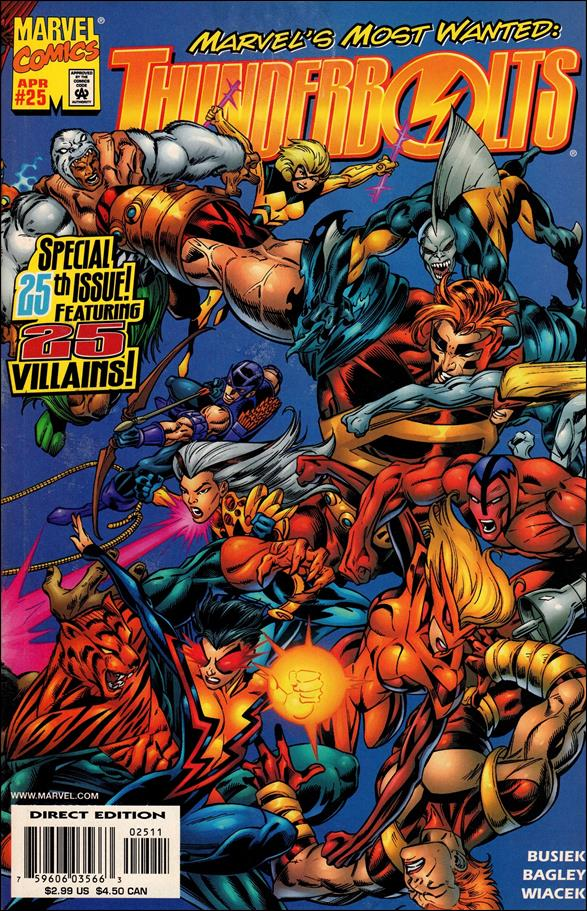 Thunderbolts (1997) 25-A by Marvel