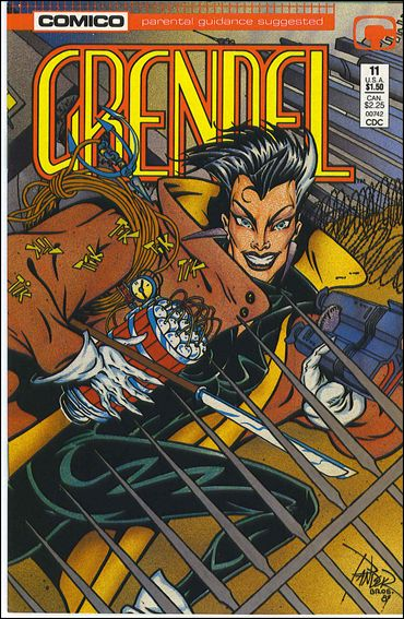 Grendel (1986) 11-A by Comico