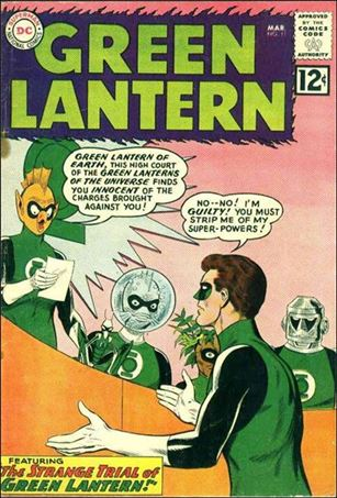 Green Lantern (1960) 11-A