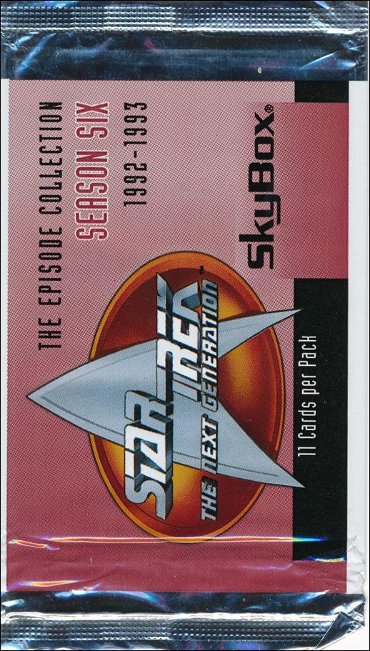 Star Trek: The Next Generation - The Episode Collection Season Six 2-A by SkyBox