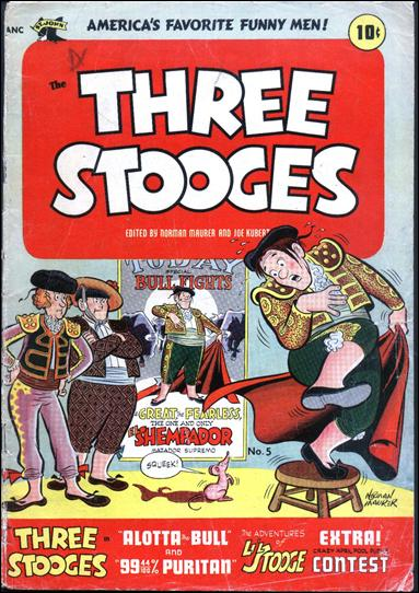 Three Stooges (1953) 5-A by St. John