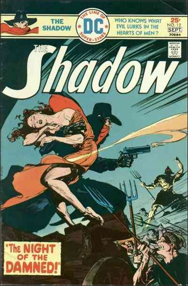 Shadow (1973) 12-A by DC
