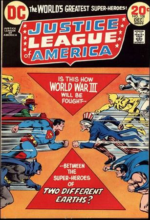 Justice League of America (1960) 108-A