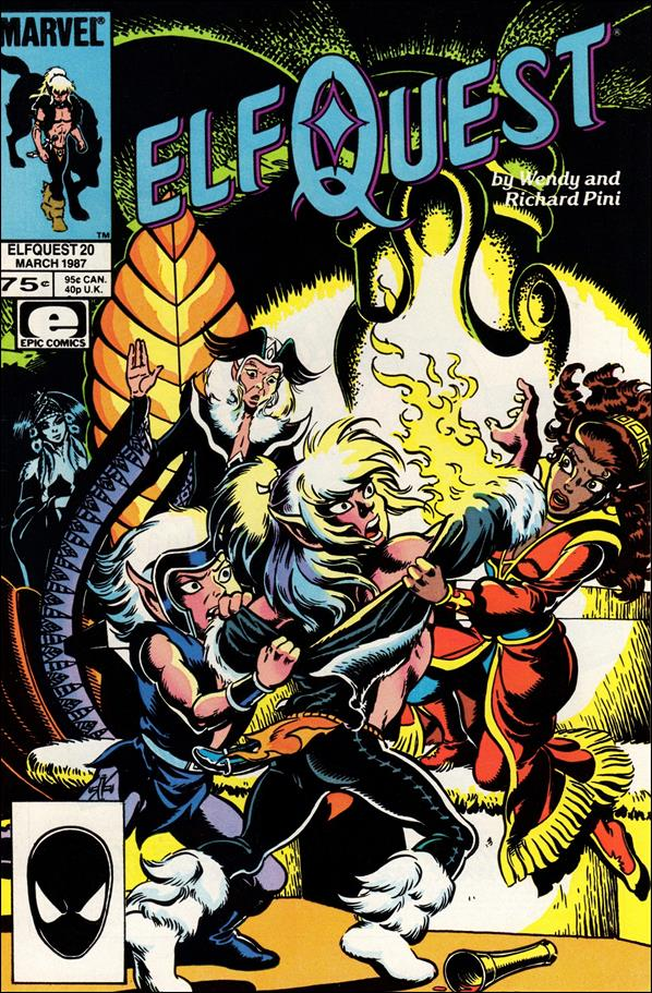 Elfquest (1985) 20-A by Epic