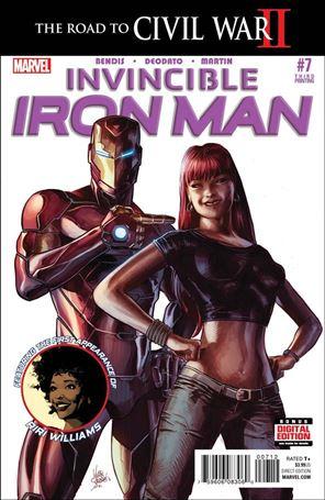 Invincible Iron Man (2015)  7-D