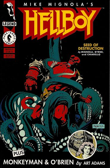 Hellboy: Seed of Destruction 2-A by Dark Horse