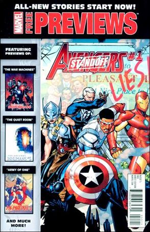 Marvel New Stories Start Now Previews 1-A