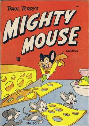 Mighty Mouse Comics 20-A