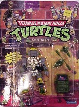 Teenage Mutant Ninja Turtles (1988) Metalhead by Playmates
