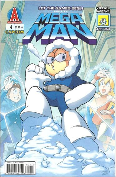 Mega Man 4-B by Archie