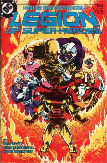 Legion of Super-Heroes (1984) 15-A by DC