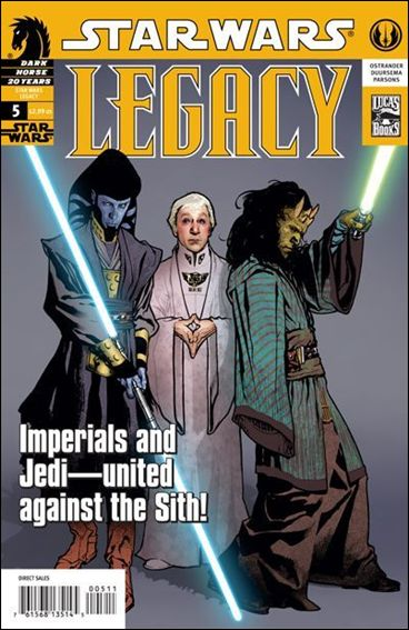 Star Wars: Legacy (2006) 5-A by Dark Horse