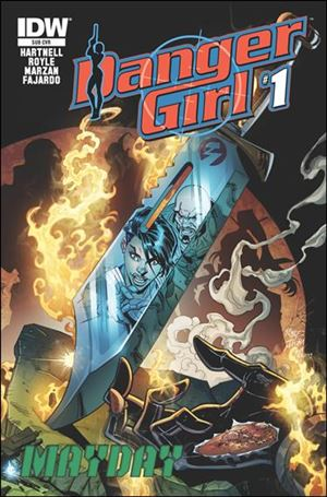 Danger Girl: Mayday 1-B