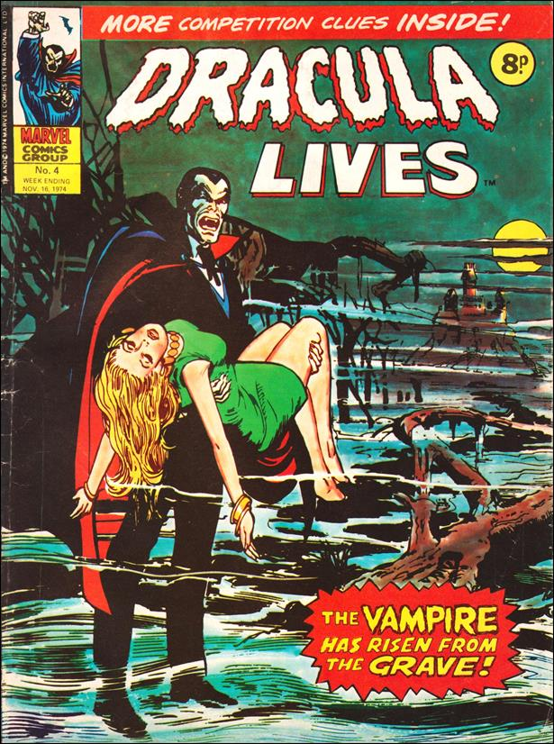 Dracula Lives (UK) 4-A by Marvel UK