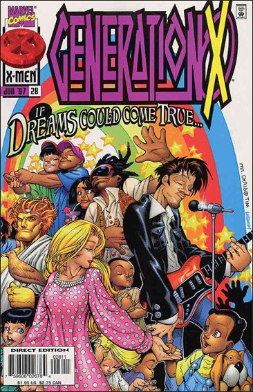 Generation X (1994) 28-A by Marvel