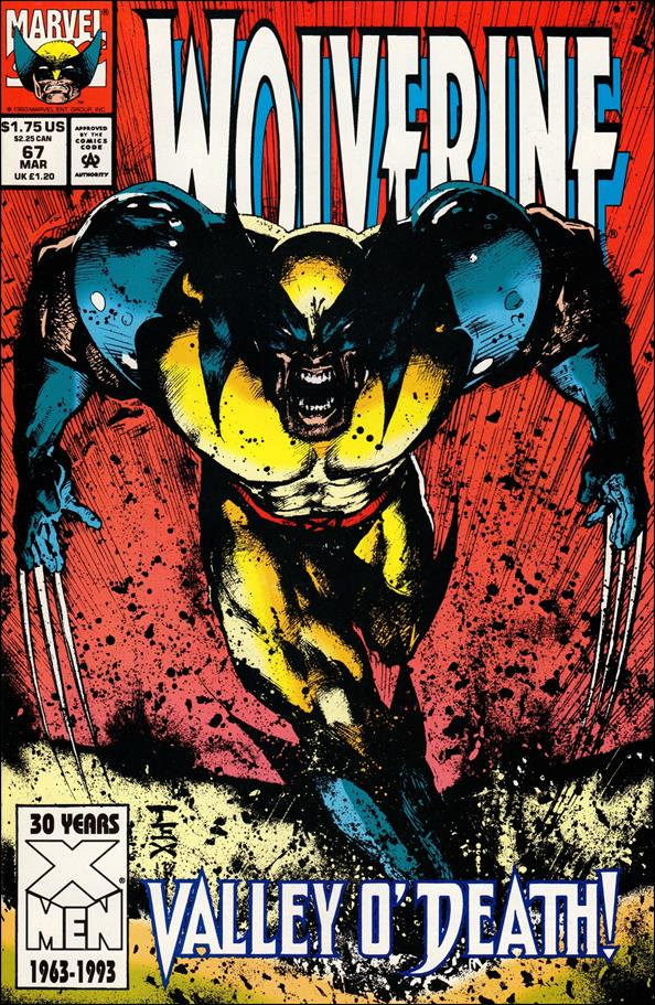 Wolverine (1988)  67-A by Marvel