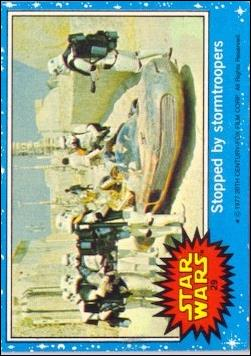 Star Wars: Series 1 (Base Set) 29-A by Topps