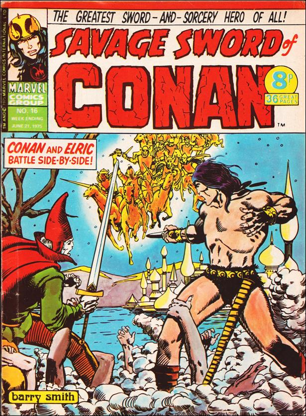 Savage Sword of Conan (UK) (1975) 16-A by Marvel UK