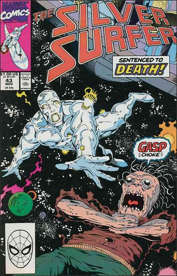 Silver Surfer (1987) 43-A by Marvel