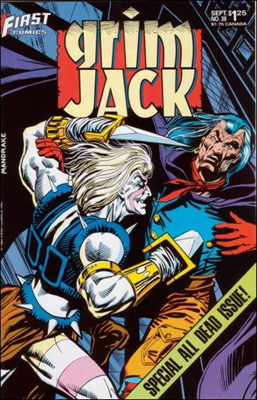 Grimjack 38-A by First
