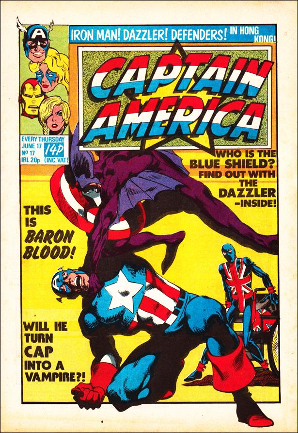 Captain America (UK) 17-A by Marvel UK