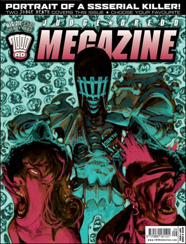 Judge Dredd Megazine (2003) 211-A by Rebellion