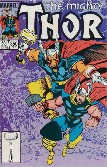 Thor (1966) 350-A by Marvel