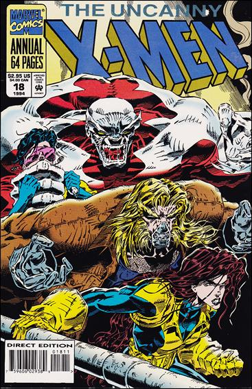 Uncanny X-Men Annual (1970) 18-A by Marvel