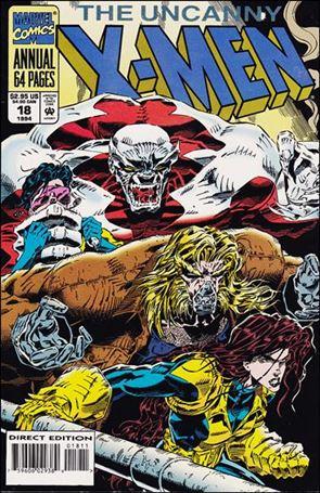Uncanny X-Men Annual (1970) 18-A