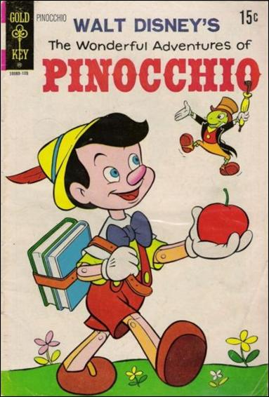 Walt Disney's The Wonderful Adventures of Pinocchio nn-B by Gold Key