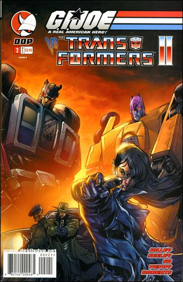 G.I. Joe vs the Transformers (2004) 2-B by Devil's Due