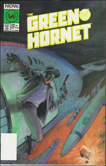 Green Hornet (1989) 12-A by Now Comics