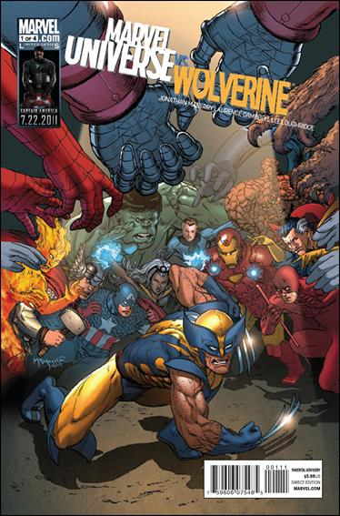 Marvel Universe vs Wolverine 1-A by Marvel