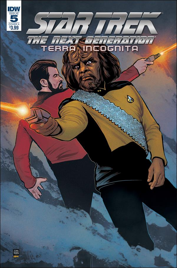 Star Trek: The Next Generation: Terra Incognita 5-A by IDW