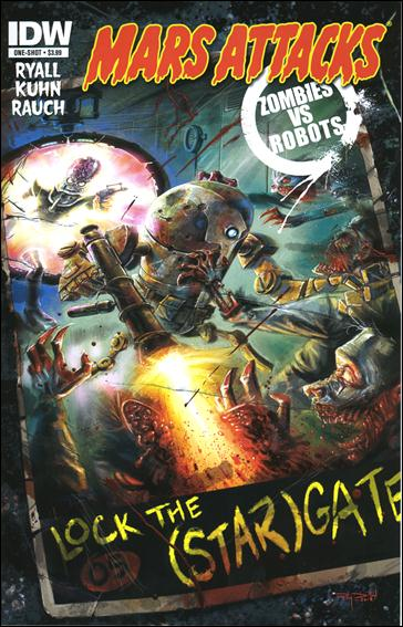 Mars Attacks Zombies vs Robots One-Shot-A by IDW