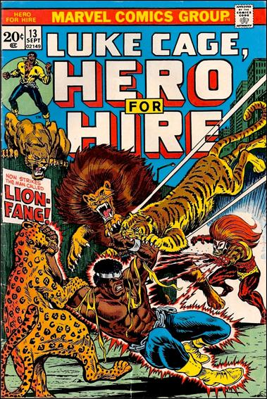 Hero for Hire 13-A by Marvel